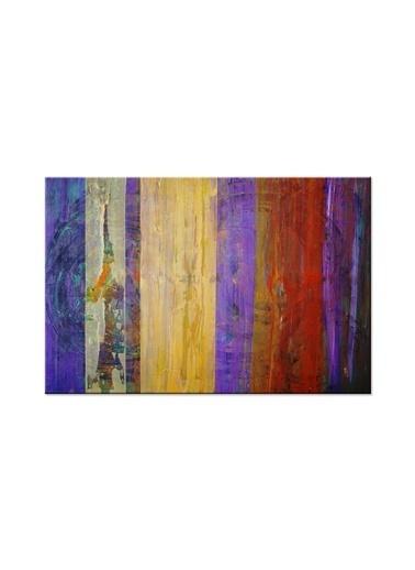Arte Casero Soyut Kanvas Tablo 50x70 cm Renkli